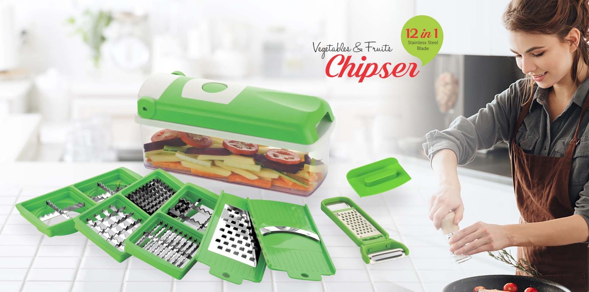Vagetable and Fruits Chipser | Network Kitchenware